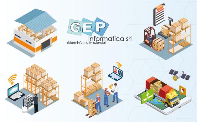 Gestione magazzino - Il metodo di GEP Informatica